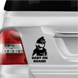 Baby on Board Girl matrica